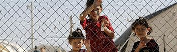 Niños refugiados sirios. Foto: Europa Press.