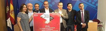 El viceconsejero de Cultura, Jesús Carrascosa, ha presentado la IX edición Festival de los Sentidos en Albacete. Foto: JCCM.