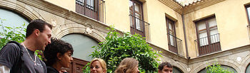 Estudiantes internacionales en la UCLM.