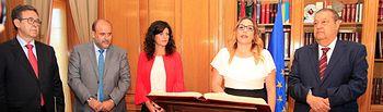 María Díaz promete su cargo como Diputada Regional por Podemos C-LM