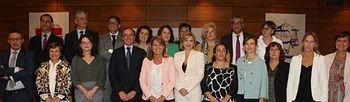 Foto de familia, Alfonso Alonso en el Pleno del Consejo Territorial de Servicios Sociales y Dependencia