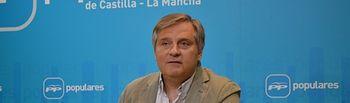 Cañizares, portavoz del Grupo Parlamentario Popular en las Cortes regionales.