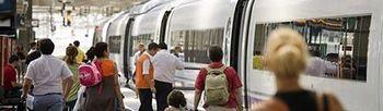 Tren. Foto: EFE.