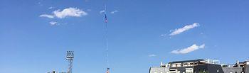 Lanzamiento globo con equipos medición. Foto: Ministerio de Agricultura, Alimentación y Medio Ambiente