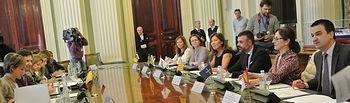 Reunión de la Conferencia Sectorial de Medio Ambiente. Foto: JCCM.