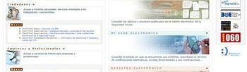 Foto Sede electrónica de la Seguridad Social (Foto:Archivo)