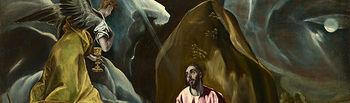 El Greco - Agonía en el Huerto de Getsemaní.