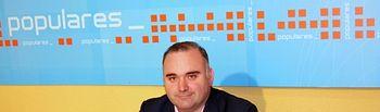 Constantino Berruga, portavoz del PP de La Roda.