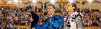 Puerta Grande Talavante y Roca Rey - Corrida Feria Abacete - 09-09-17