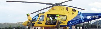 Helicóptero servicio contra incendios JCCM