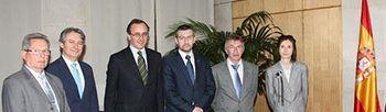 Alfonso Alonso se reúne con asociación de diabéticos. Foto: Ministerio.