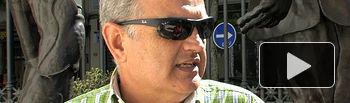José Reina, presidente de la Federación de Asociaciones de Vecinos de Albacete.