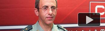 Jesús Manuel Rodrigo, Teniente Coronel Jefe de la Comandancia de la Guardia Civil de Albacete