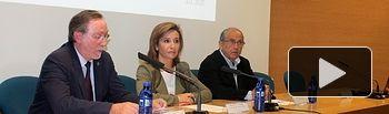 Marta García. Inauguración jornada 'Rehabilitación edificatoria' II. Foto: JCCM.