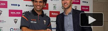 Presentación de Quim Araujo como jugador del Albacete Balompié