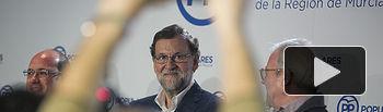 Mariano Rajoy preside la reunión de la Junta Directiva del PP de Murcia