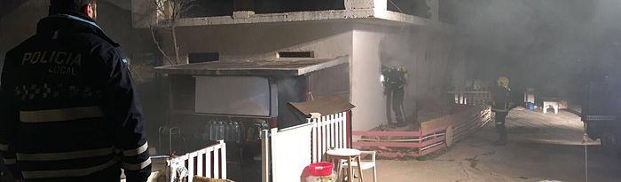 Fallece calcinada una mujer en una vivienda ocupada de Albacete. Foto: @PoliciaAlbacete