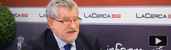 Ángel Felpeto, consejero de Educación, Cultura y Deporte de la JCCM