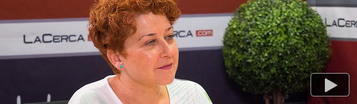 Maribel Cabañero, secretaria general de CCOO-Construcción y Servicios de Albacete