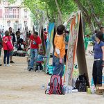 IV Exhibición Nacional de Grafiti de Cruz Roja, en el Parque Abelardo Sánchez de Albacete