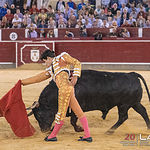 Feria taurina Albacete - Álvaro Lorenzo - Su segundo toro.