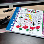 """Portada del libro """"Cómo evitar un timo"""", de José Francisco Roldán, ilustrado con viñetas de Valeriano Belmonte."""
