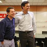 Pedro Sánchez y Emiliano García-Page. El líder del PSOE de C-LM formará parte de la nueva ejecutiva nacional socialista.