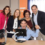 Visita a la sede de la asociación 'Aspacecire' de Ciudad Real.