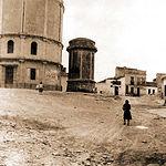 Imagen de la Villa Nueva, posteriormente conocida como Alto de la Villa y actualmente como Villacerrada. Principios del siglo XX.