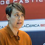 María Teresa Arévalo, candidata de Unidos Podemos al Congreso por Albacete.