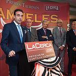 Enrique Ponce en la Gala de entrega de los XI Premios Taurinos Samueles correspondientes a la Feria de Taurina de Albacete 2016