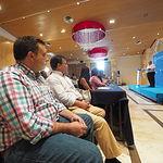 Manuel Serrano, alcalde de Albacete. en la convención Municipal y Parlamentaria del PP-CLM
