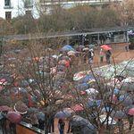 Manifestación en Cuenca para exigir Pensiones Dignas.