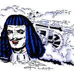 Artículo ilustrado de Valeriano Belmonte