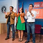 Acto de apoyo a la candidatura de Pedro Sánchez en Albacete