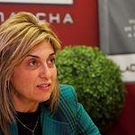 Carmen Juste, secretaria provincial de CCOO en Albacete. Foto: Manuel Lozano Garcia / La Cerca