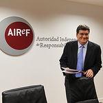 José Luis Escriba, presidente de AIREF. Archivo.