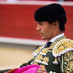 Pablo Aguado - Su primer toro - Corrida Feria de Albacete del 13-09-2016