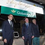 Inauguración del Belén de Globalcaja en Albacete.