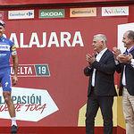 Fotos Vuelta Ciclista a España, llegada a Guagalajara. Foto: ©JRopero