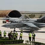 Vista de las instalaciones de la Base Aérea de Los Llanos. Archivo.