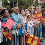 Desfile en el Día de la Fiesta Nacional. Foto: Iñaki Gómez/MDE.