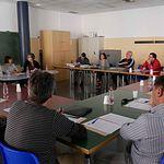 Un momento de la reunión de concejales y diputados celebrado recientemente.