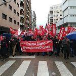 Manifestación en Ciudad Real para exigir Pensiones Dignas.