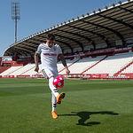 Presentación de Mathías Olivera como nuevo jugador del Albacete Balompié