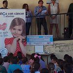 """""""Medalla de Platino"""" a los alumnos del Colegio San Juan Evangelista (Sonseca) por su II Milla Solidaria a favor de AFANION"""