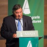José Pérez Cuenca, presidente de ASAJA Albacete en la Asamblea General Ordinaria de ASAJA Albacete
