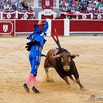 El Fandi - Segundo toro - Corrida 09-09-17