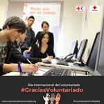 Día Internacional del Voluntariado, Cruz Roja.