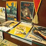 Recuerdos de las Brigadas Internacionales en un minimuseo ubicado en las instalaciones del CEDOBI.